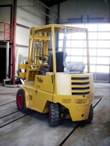 YALE extends search for oldest forklift