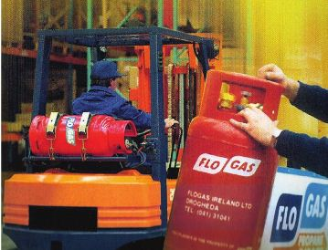 FLOGAS GIVES ENERGY TO FORKLIFTS