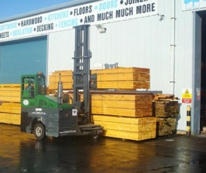 Combilift delivers for MGM Timber