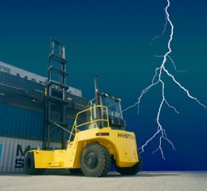 Hyster sparks green technology