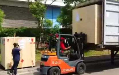 Duo Forktruck Job