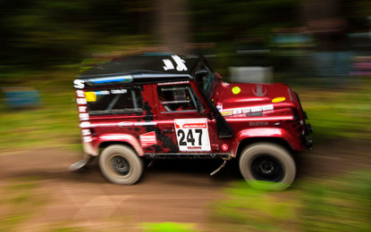 Land Rover Defender Challenge Trackrod Rally