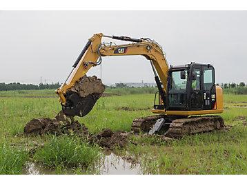 CAT 307E2 expands mini hydraulic excavator machine range