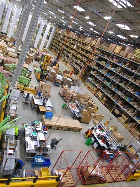 Doosan European Parts Centre – Industry leading Service