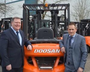 Doosan's new UK National Accounts Team