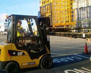 Moores Furniture Group takes delivery of new CAT forklift trucks