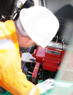 Potentially explosive consequences for incorrect servicing, warns Pyroban
