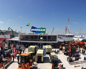 Sales Success for Doosan Bobcat at Bauma 2016