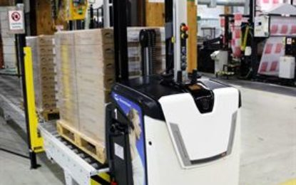 New Carer HD EV forklift from  Impact at IMHX