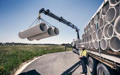 Hiab's new HIAB X-HiPro 558 loader crane for 3-axle trucks