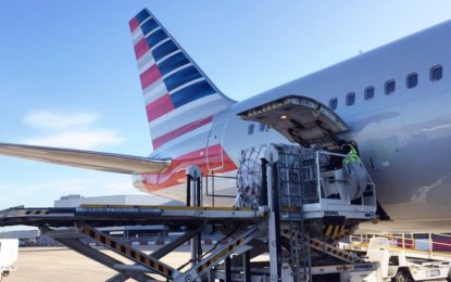 AMERICAN AIRLINES CARGO's RECORD FREIGHT DAY FROM HEATHROW