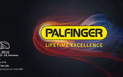 Impressive PALFINGER display at IAA 2016