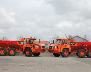 Risa AS Quadruples Size of Doosan Truck Fleet in 2016