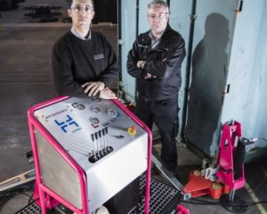 Portable container weighing solution delivers cost savings
