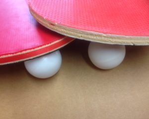 Ping-pong balls are no longer dangerous!