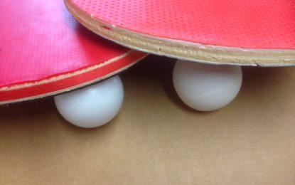 Ping-pong balls are no longer dangerous!