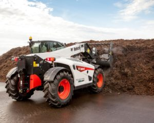 Premiere for New Bobcat Telescopic Loaders at LAMMA
