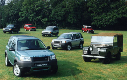 Land Rover Rr Evolution