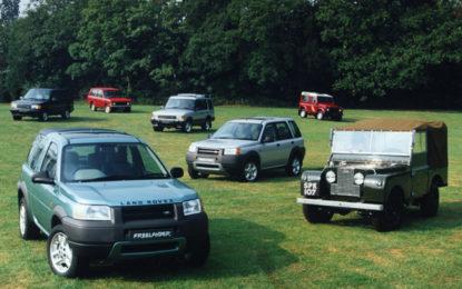 Land Rover Rr Evolution