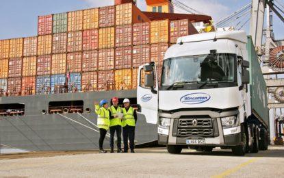 Hiab loader cranes order from Wincanton