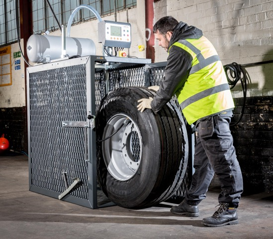Motor Wheel Service Distribution (MWSD) invests over £100,000 in tyre fitting cages