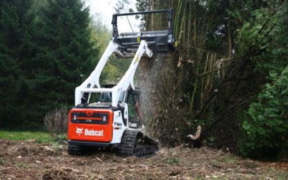 New High Torque Forestry Cutter Attachments from Bobcat