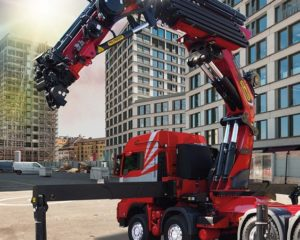 Palfinger PK 165.002 TEC 7 heavy duty crane makes North American Premier