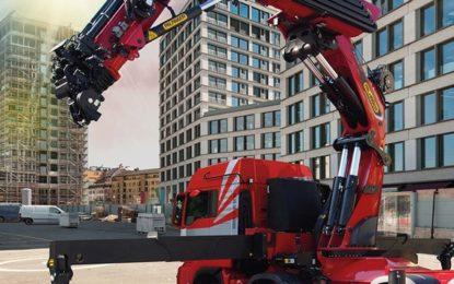Palfinger PK 165.002 TEC 7 heavy duty crane makes North American Premier