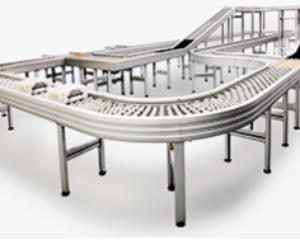 A modern Conveyor System, controlled in zones from Avancon