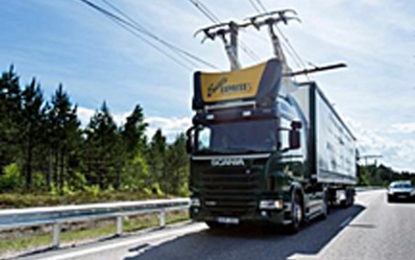 GEODIS explores electric freight highway