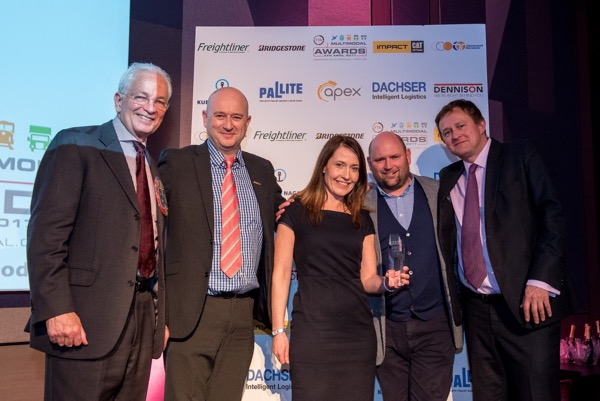 DSV named as winner at FTA Multimodal Awards