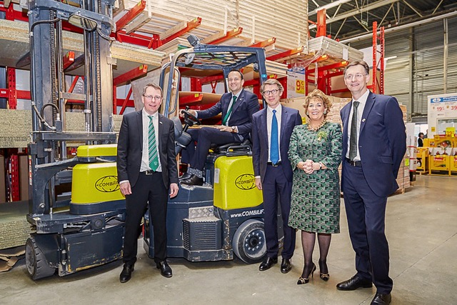 Major contract for Combilift with Kingfisher Group in France