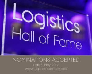 Countdown for Logistics Hall of Fame proposal has begun