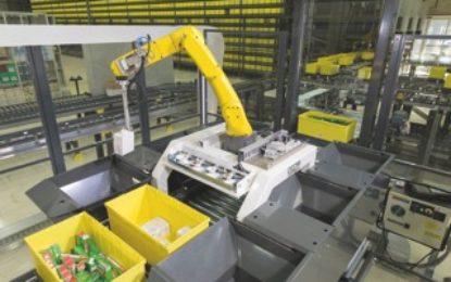 Best Product Award for KNAPP's picking robot at LogiMAT 2017