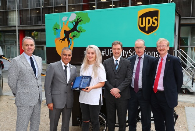 UPS goes 'the Last Mile' from Delivery Van to Bike in Dublin's Fair City