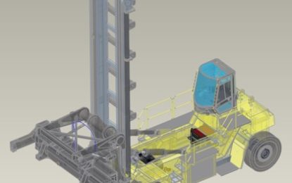Hyster Europe highlights project to electrify container handlers at TOC
