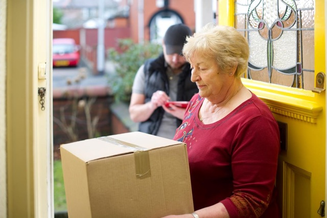 Neighbours signing for parcels could end up in Court!