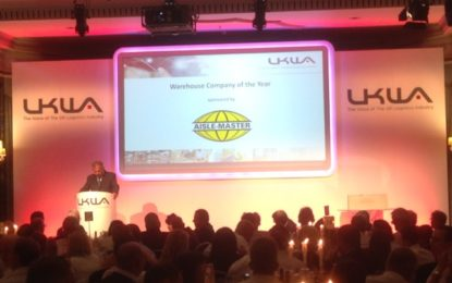 Best Practice in Warehousing & 3PL rewarded at UKWA Awards