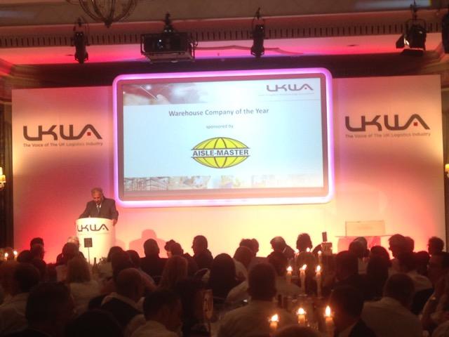 Best Practice in Warehousing & 3PL rewarded at UKWA Awards