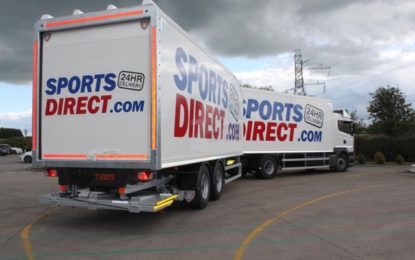 Tiger Trailers teams ups with Sports Direct