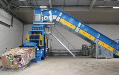 Heron Foods installs Presona baler &conveyor system