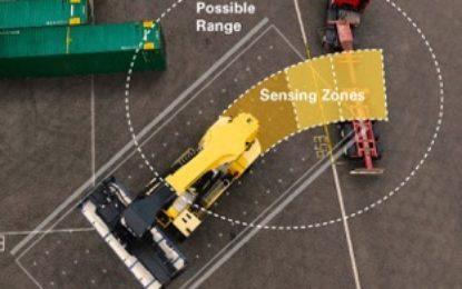 Hyster develops lift truck visibility for the Smart Port