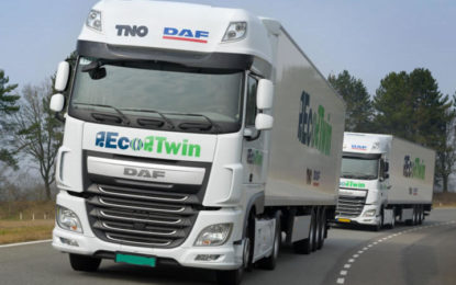 DHL's role in UK automated truck convoys