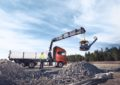 Hiab expands continuous slewing for its loader cranes