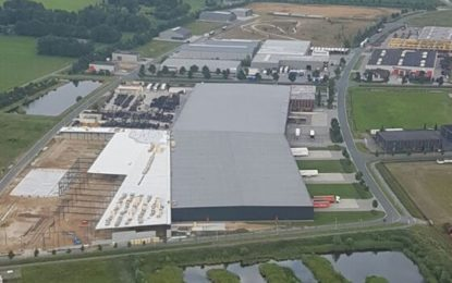 Heuver Tyrewholesale go energy-neutral with new-build warehouse