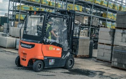 Case study: Covers Timber & Builders Merchants looks to the future with Doosan electric trucks