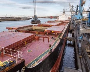 62,000 tonnes of wood-pellets unloaded at Port of Tyne