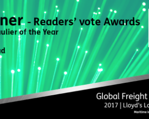 DSV wins Global Freight Readers' Award
