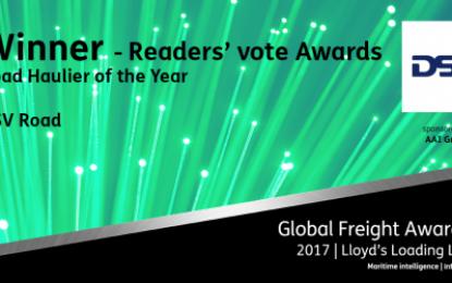 DSV wins Global Freight Readers' Award