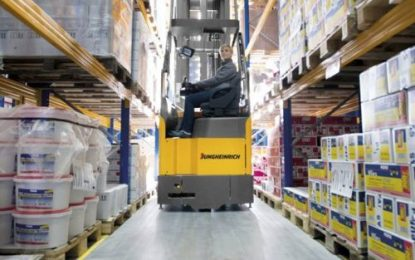 Jungheinrich's Automated logistics solution features innovative contour control